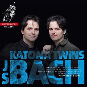 Katona Twins - J S Bach