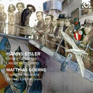 Hanns Eisler - Ernste Gesange - Lieder with piano