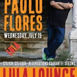 Paulo Flores at Lula Lounge