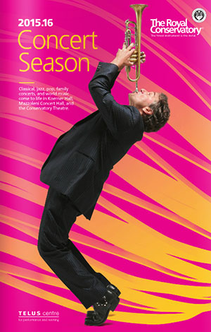 Royal Conservatory of Music - 2015-16 Concert Season 1