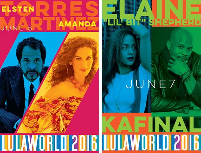 Lulaworld 2016 - June 5-7
