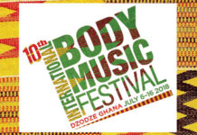 10th International Body Music Festival