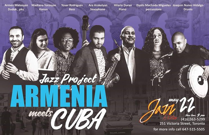 Armenia Meets Cuba Jazz Project at Jazz Bistro