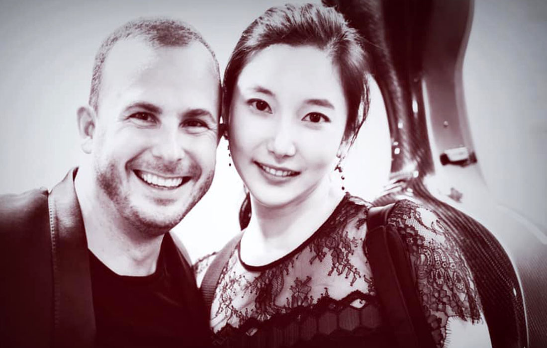 Hee-Young Lim with Yannick Nézet-Séguin